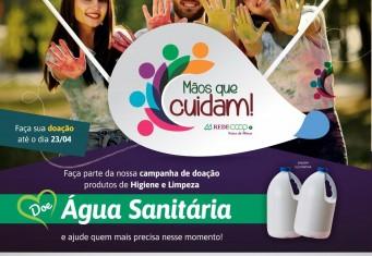Campanha Mãos Que Cuidam!