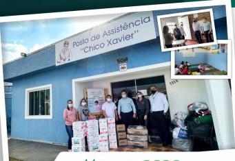 Rede Coop Patos de Minas realiza doações